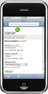 Zipcar_iphone